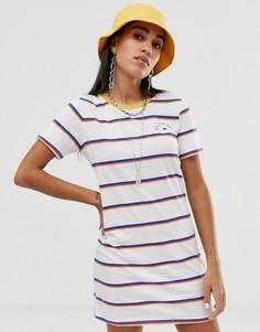 Платье-футболка в полоску Vans - Мульти