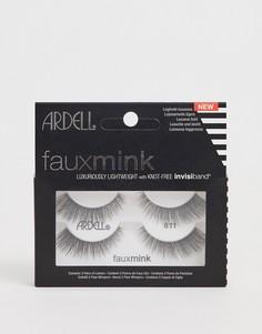 Набор из двух пар накладных ресниц Ardell Faux Mink Lashes 811 - Черный