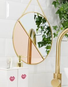 Подвесное зеркало Candlelight - Золотой