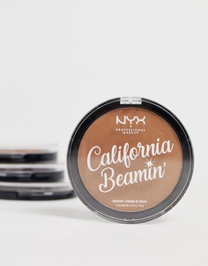 Бронзатор для лица и тела NYX Professional Makeup - California Beamin (The Golden One - Коричневый