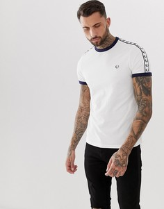 Белая футболка Fred Perry Sports Authentic - Белый