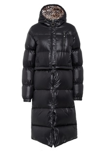 Стеганое пальто с нашивкой Philipp Plein