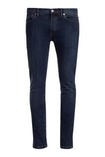 Зауженные синие джинсы Valentino