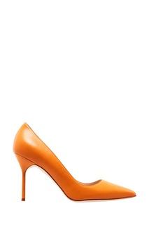 Кожаные туфли BB Manolo Blahnik