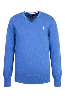 Синий пуловер Polo Ralph Lauren Kids