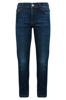 Темно-синие джинсы Dolce&Gabbana Children