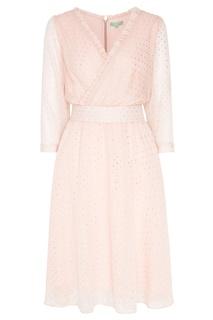Розовое платье в горошек Akhmadullina Dreams