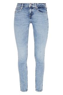 Зауженные голубые джинсы Calvin Klein
