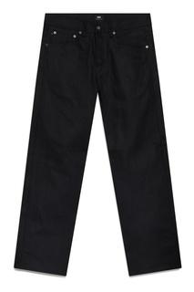 Черные джинсы прямого кроя Edwin