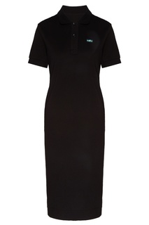 Платье-поло черного цвета Fw Dlab