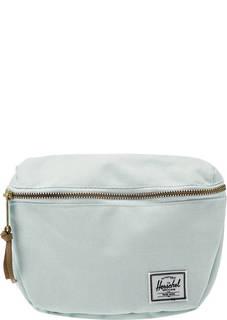 Текстильная поясная сумка мятного цвета Herschel