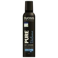 Syoss мусс Pure Volume