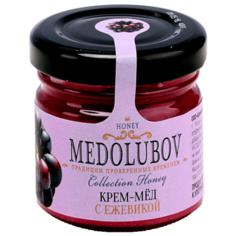 Крем-мед Medolubov с ежевикой