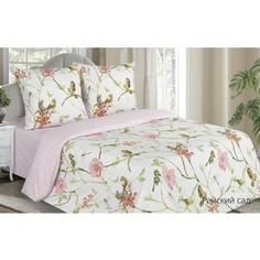 Комплект постельного белья Ecotex евро, поплин Поэтика Райский сад (4660054341946)