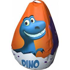 Мешок-Рюкзак-Подушка Dino Baby (оранжевый)