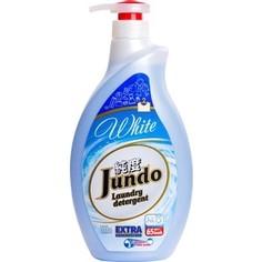 Гель для стирки Jundo White концентрированный, для стирки белого белья 1 л, 65 стирок