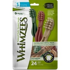 Лакомство Whimzees Toothbrush Star S Value Bags Зубная щетка для собак S 9см 24шт в пакете (WHZ342ROW)
