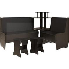 Кухонный набор Атлант Тэссера без стола punto - бронзовая, венге магия Atlant