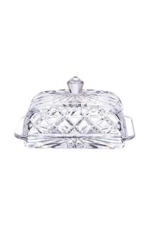 Масленка с крышкой Crystalite Bohemia