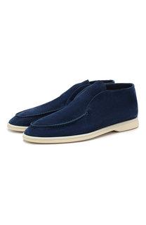 Замшевые ботинки Loro Piana