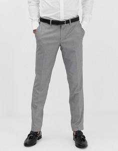 Узкие брюки в ломаную клеточку Esprit - Серый