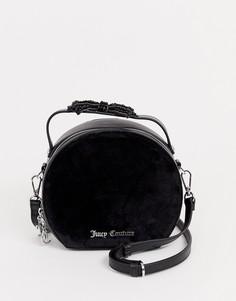 Черная круглая сумка с бантом Juicy Black Label - burnett - Черный
