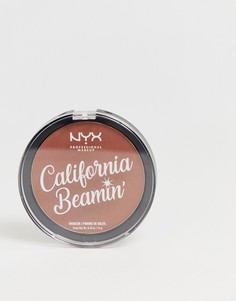 Бронзатор для лица и тела NYX Professional Makeup California Beamin - Beach Bum - Коричневый