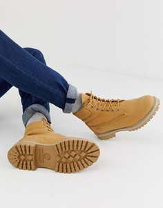 Бежевые премиум-ботинки высотой 6 дюймов Timberland - Бежевый