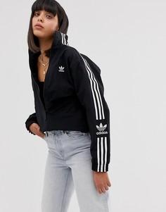 Черная спортивная куртка с логотипом adidas Originals - Черный