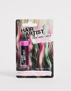 Розовый мел для волос NPW - Розовый
