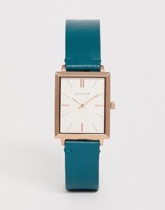 Часы с кожаным ремешком Jigsaw - Зеленый
