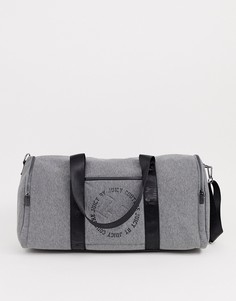 Серая спортивная сумка-мешок Juicy x JC - sunset - Серый