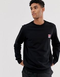Черный свитшот с логотипом Diesel S-Gir - Черный