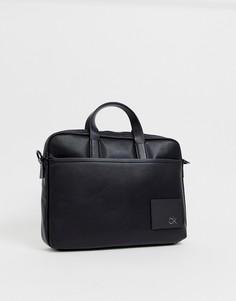 Черная сумка для ноутбука с логотипом Calvin Klein CK Direct - Черный