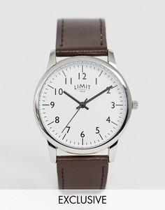 Часы с коричневым ремешком Limit эксклюзивно для ASOS - Коричневый