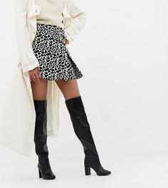 Ботинки на блочном каблуке New Look - Черный