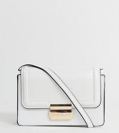 Белая маленькая сумка с прямоугольным дизайном River Island - Белый
