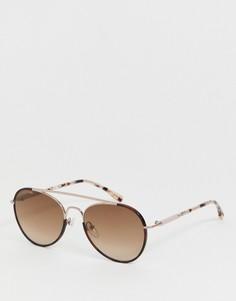 Круглые солнцезащитные очки Lacoste - L211S - Розовый