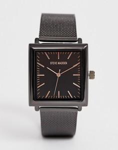 Черные мужские часы Steve Madden - Черный
