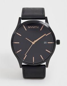 Часы с кожаным ремешком MVMT - Classic - Черный