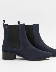 Ботинки челси на среднем каблуке Superdry - Темно-синий