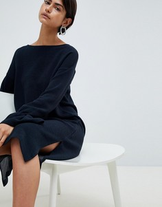 Платье А-силуэта French Connection - Темно-синий