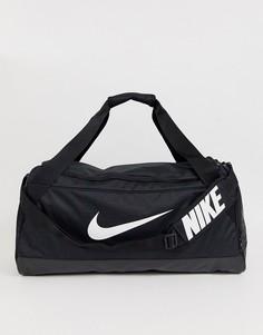 Черная сумка среднего размера Nike Training Brasilia - Черный
