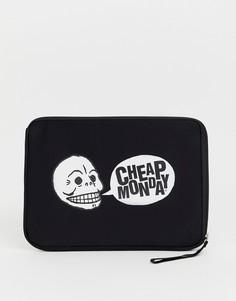 Сумка для ноутбука с логотипом Cheap Monday - Черный