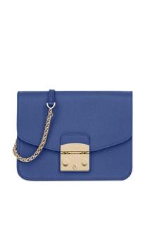 Синяя сумка Metropolis Furla