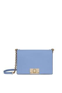 Голубая сумка Mimi' Furla