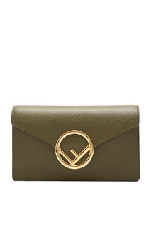 Поясная сумка зеленого цвета Fendi