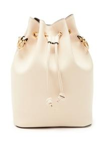 Кожаная сумка-мешок Fendi