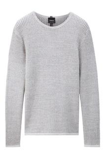 Серый свитер с круглой горловиной Strellson