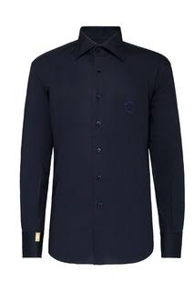 Чернильно-синяя сорочка Billionaire